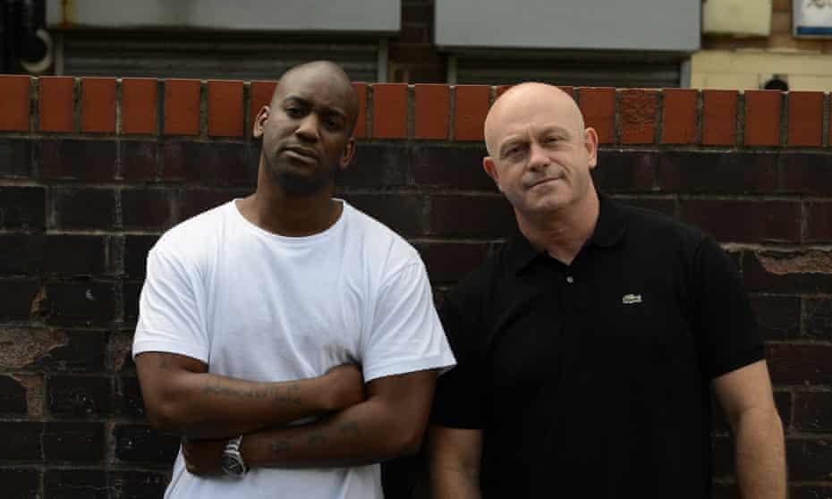 Ross Kemp and ex-gang member Matthew Norford