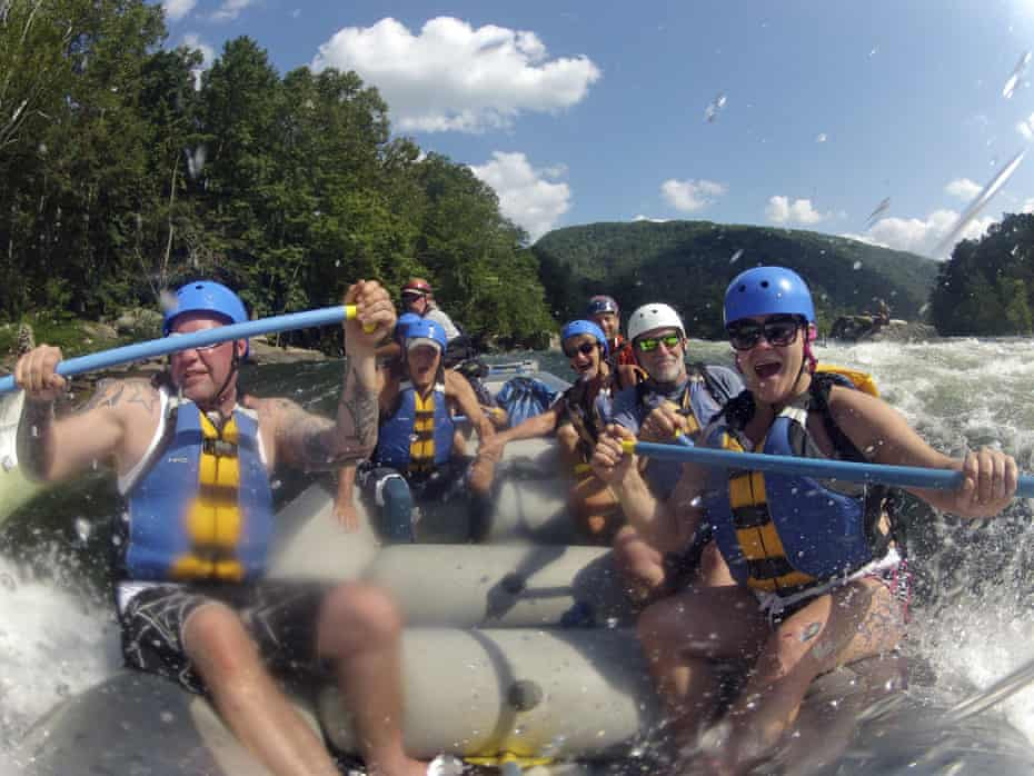 The New River Gorge offers some of the best whitewater rafting in the eastern US.