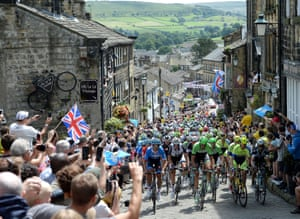 Huge crowds lined the entire route when the 2014 Tour de France came to Yorkshire.