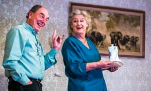 Alun Armstrong as Edward and Maggie Steed as Maureen in The Cane.