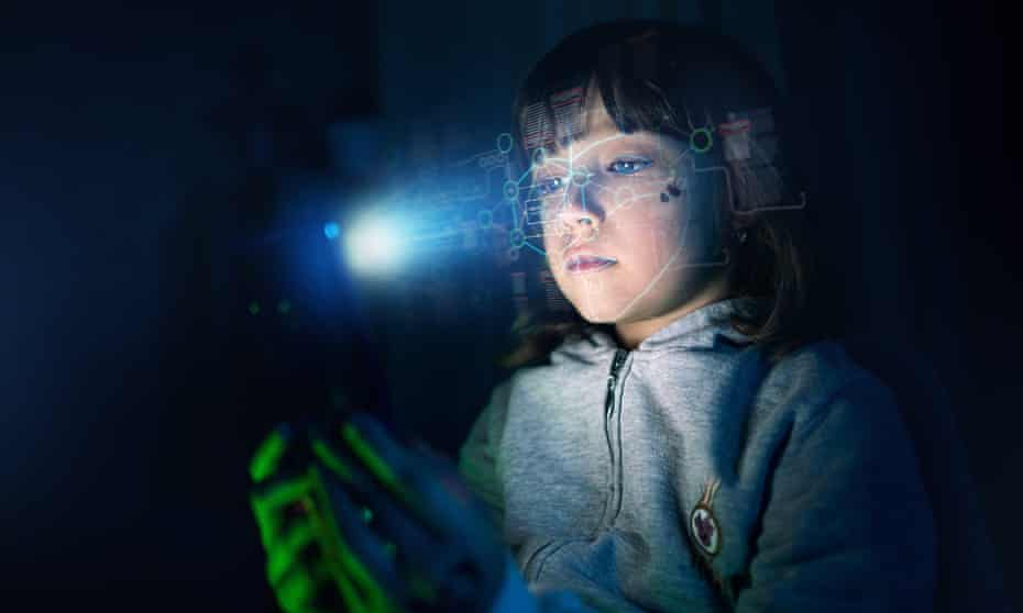 Facial recognition technology could help tell children from adults.