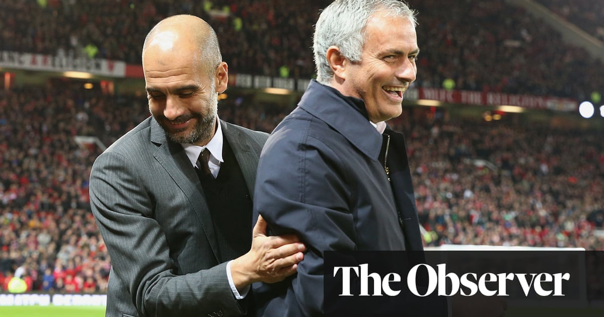 Guardiola looks to Europe for boost as he prepares to face old foe Mourinho | Paul Wilson