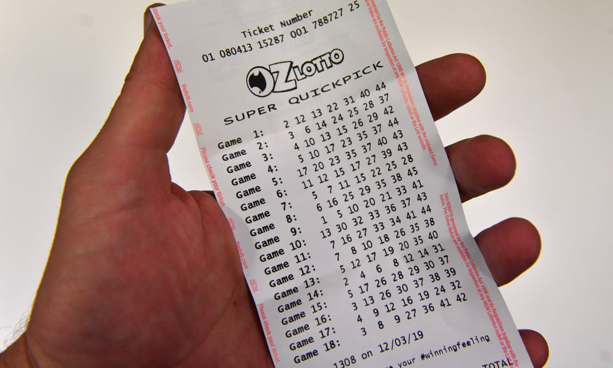 Australian man nets $46m in Oz Lotto after accidentally buying two winning tickets | Melbourne | The Guardian