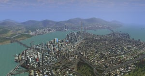 Looking down over Hong Kong and Kowloon Bay, at the 7 million people who live on its 412 sq miles of land.