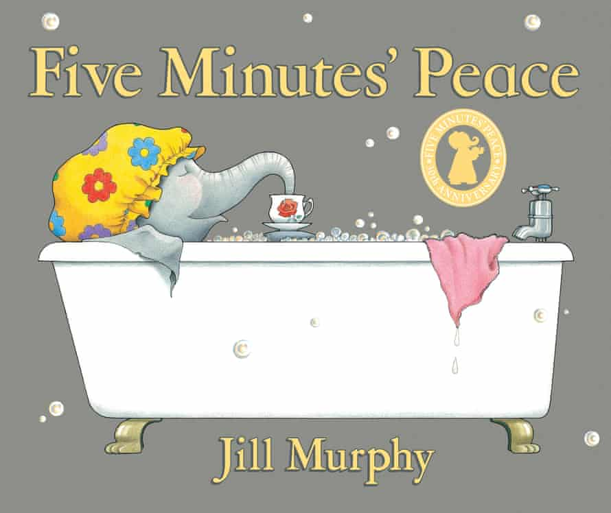 Five Minutes' Peace by Jill Murphy, about a family of elephants. While the characters are animals the situations are entirely human and her stories are full of understanding for parents as well as children.