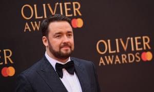 Jason Manford at the Olivier awards in 2019.