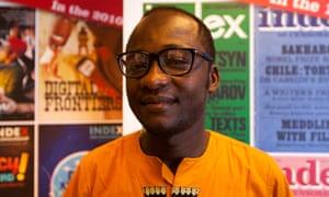 Congolese digital activist Guy Muyembe