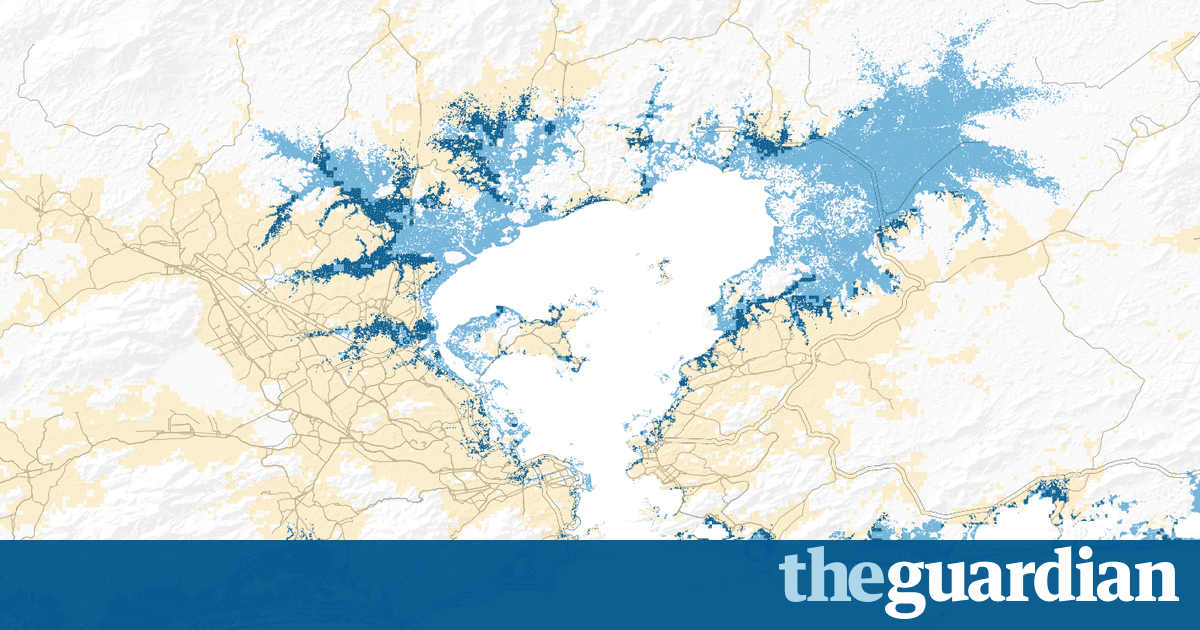 The three-degree world: the cities that will be drowned by global warming