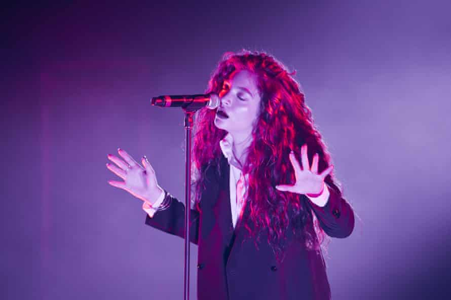 Lorde performs at Brixton Academy