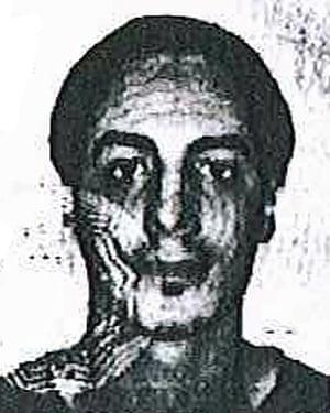 A man identified by Belgian prosecutors as Najim Laachraoui.