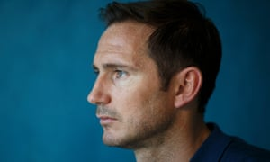 BT Sport's Frank Lampard fulfils his duties with confidence and authority.
