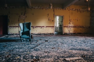 Images from the five-year project Abandoned, focusing on Victorian mental asylums