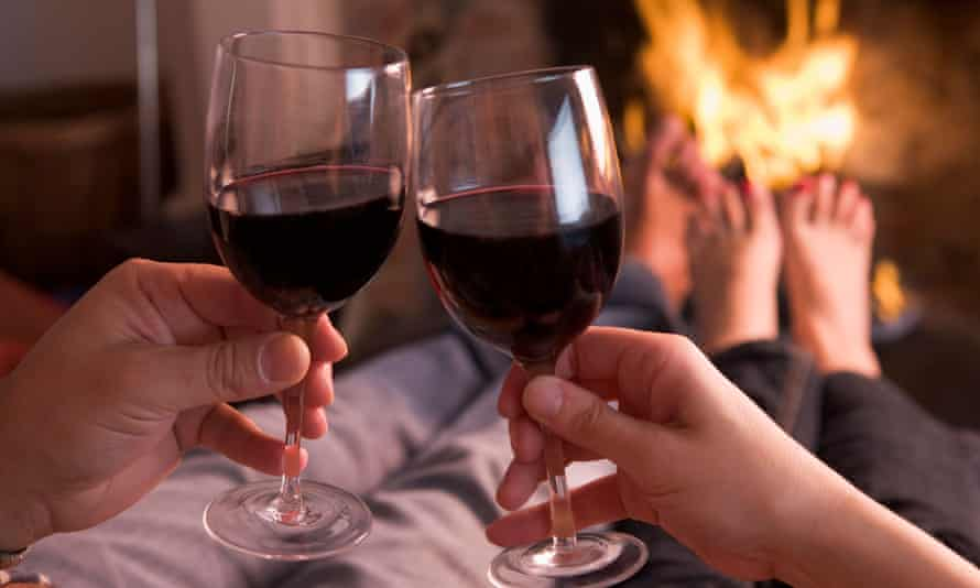 England's chief medical officer would like people to think about their increased risk of cancer each time they reach for a glass of wine.