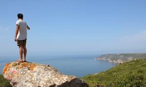 Hiking in the Serra da Arrábida