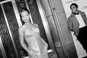 Rihanna with Zac Posen at VH1 Fashion Rocks, 2006