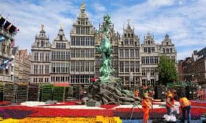 The Grote Markt, Antwerp, Belgium