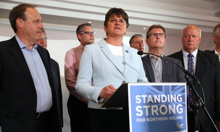 7c1e989ab3 DUP leader Arlene Foster vows to bring stability to UK with Conservatives