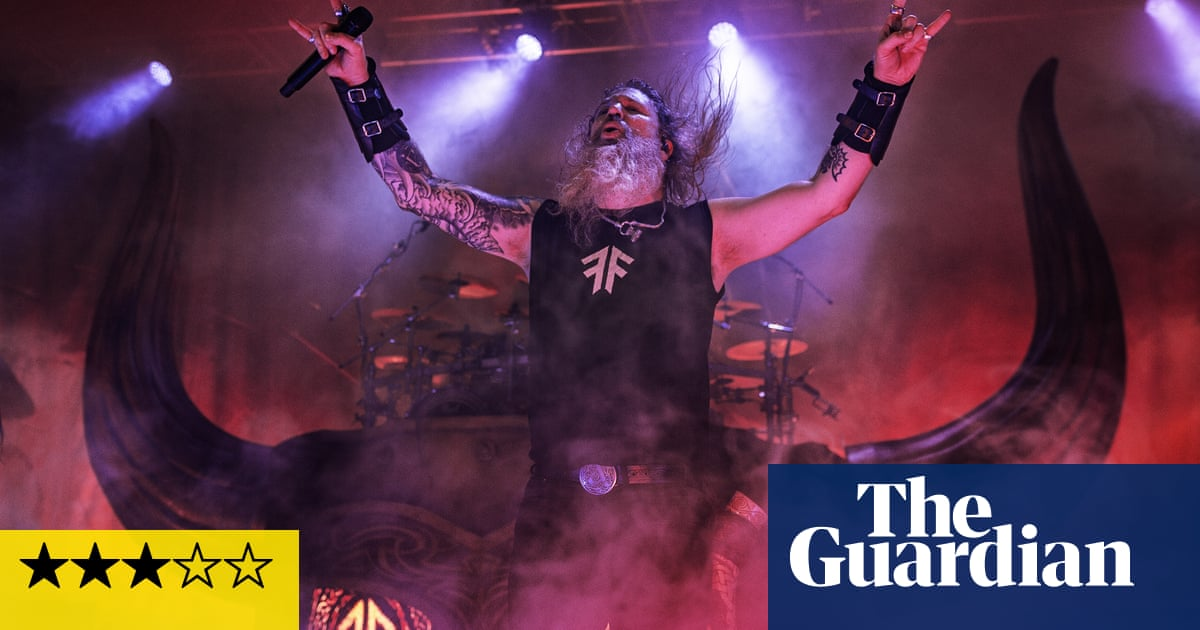 Amon Amarth review – berserkers, sea serpents and catchy death metal