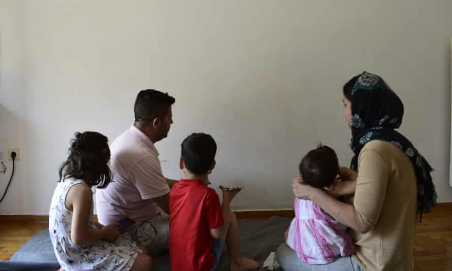 Nabas and Sawen Khoshanaw and their three children