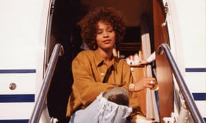 Whitney Houston featured in a still from an eponymous new documentary.