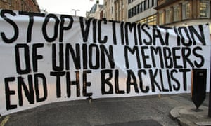 Flashmob protest at Crossrail site in Central London by Unite union members