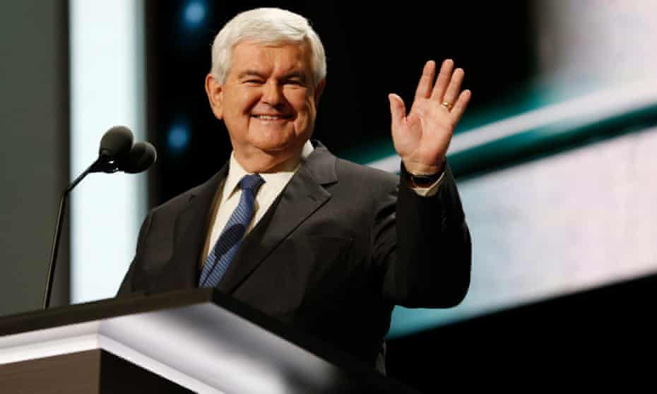 'I don't think there is a public political figure in America that could do what he's done,' Andrew Ferguson, a staff writer for the Atlantic, said of Gingrich.