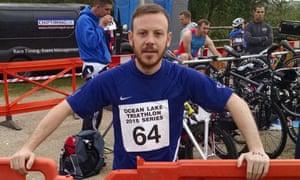 Paul Gallihawk was raising money for King's College hospital in London.