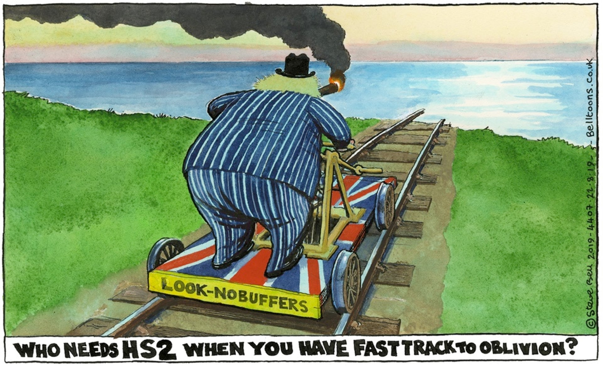 941 - Britain's biggest rail controversy - with some solutions