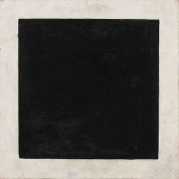 Black Square by Kazimir Malevich, c 1932, oil on canvas.