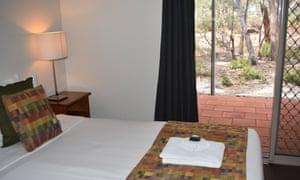 A room at the Kangaroo Island Wilderness Retreat.