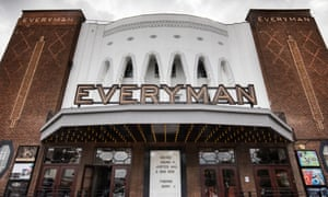 The Everyman Cinema on the Great North Road, Barnet, London.