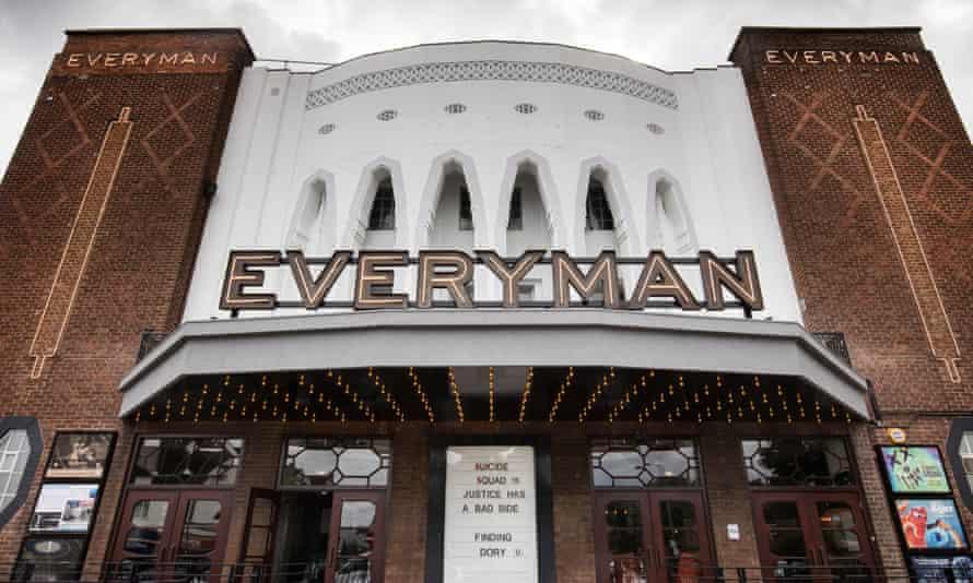 The Everyman Cinema on the Great North Road, Barnet, London.