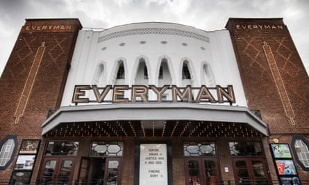 The front of the Everyman cinema building in Barnet, London