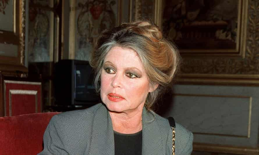 The former French movie actress in 2000. Photograph: EPA Photo AFP/Georges Bendrihem.