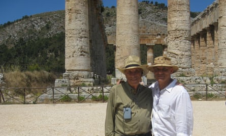 Jay and Daniel Mendelsohn on a cruise around the Mediterranean retracing Odysseus's journey