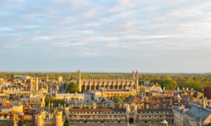 Cambridge University was last year ranked the world's second best university.