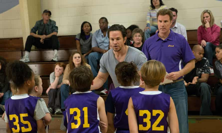 Team players: with Mark Wahlberg in Daddy's Home. <br> 'He represents the lion male to my kitty cat…'