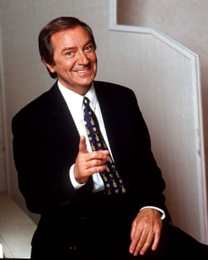 Des O'Connor began hosting his own chatshow in 1977, which ran for 25 years.
