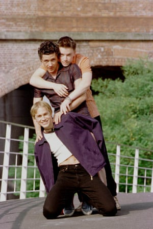 Queer As Folk (from top) Craig Kelly, Aiden Gillen and Charlie Hunnam.