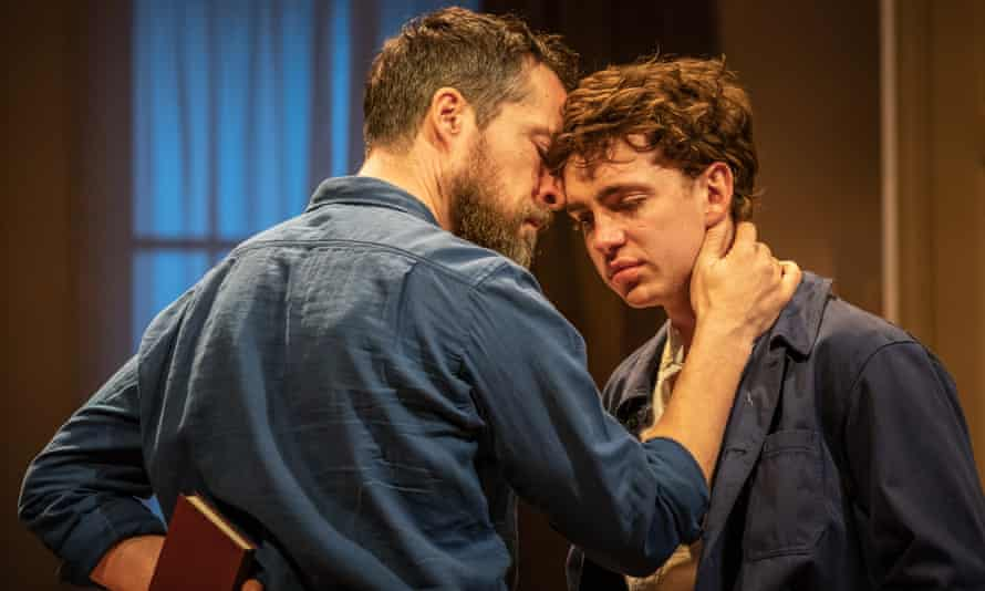 John Light and Laurie Kynaston in The Son.