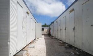 Inside the refugee settlements on Nauru, September 2017.