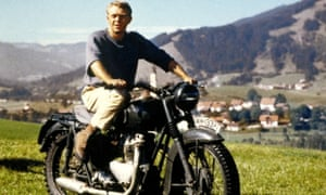 Steve McQueen in the Great Escape (1963)