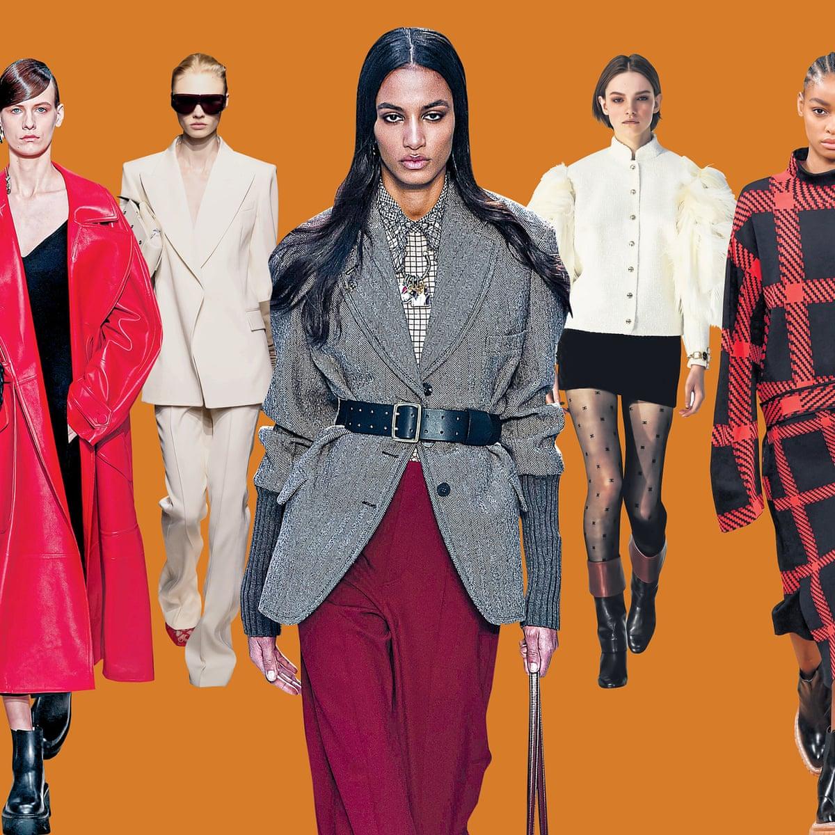 How To Dress Like A Parisian Big Coats Monochrome And A Splash Of Crimson Fashion The Guardian