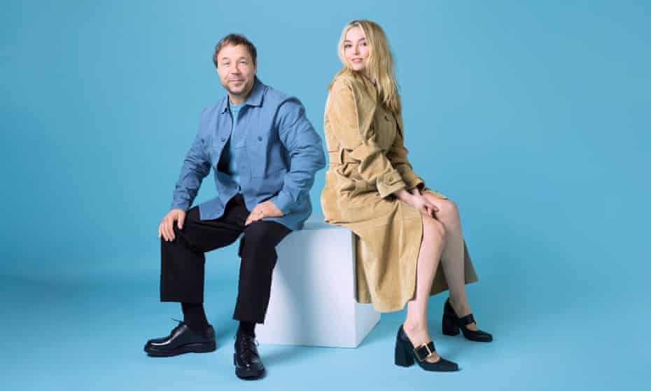 Stephen Graham and Jodie Comer photographed for the Observer New Review by Pål Hansen.
