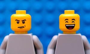 Two lego figures