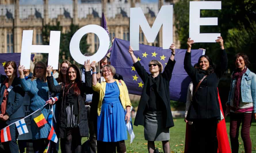 EU citizens living in the UK must apply for settled status so they can legally stay after free movement ends.