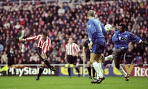 Kevin Phillips' favourite goal: his volley against Chelsea in 1999.