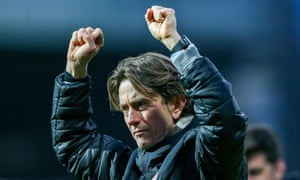 Thomas Frank faces his former boss Dean Smith when Aston Villa visit Brentford on Wednesday.