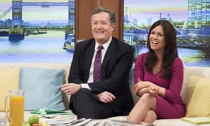 Which side of the sofa is best for TV presenters? Take a seat