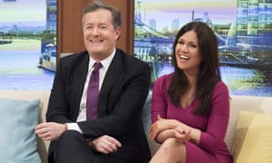 Do male breakfast TV presenters always sit on the left? - in
